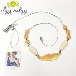 Itzy Ritzy teething necklace NWT mom jewelry